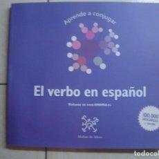 Libros de segunda mano: APRENDE A CONJUGAR. EL VERBO EN ESPAÑOL. MOLINO DE IDEAS, 2012. Lote 63346244