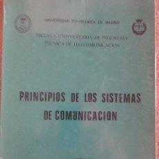 Libros de segunda mano: PRINCIPIOS DE LOS SISTEMAS DE COMUNICACION. UNIVERSIDAD POLITECNICA DE MADRID.. Lote 63493428