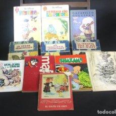 Libros de segunda mano: 8092 - LITERATURA INFANTIL. LOTE DE 11 EJEMPLARES. VV. EDITORIALES(VER DESCRIPCION). AÑOS 60/70.. Lote 63516464