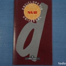 Libros de segunda mano: LIBRO DE ENCICLOPEDIA UNIVERSAL Nº 9 DE DIARIO SUR LOTE 11. Lote 63518404