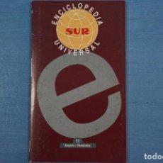 Libros de segunda mano: LIBRO DE ENCICLOPEDIA UNIVERSAL Nº 11 DE DIARIO SUR LOTE 11. Lote 63518460