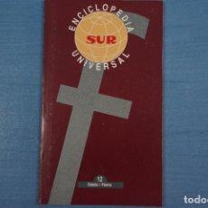 Libros de segunda mano: LIBRO DE ENCICLOPEDIA UNIVERSAL Nº 12 DE DIARIO SUR LOTE 11. Lote 63518572