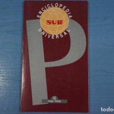 Libros de segunda mano: LIBRO DE ENCICLOPEDIA UNIVERSAL Nº 22 DE DIARIO SUR LOTE 11. Lote 63519196