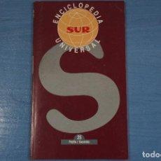 Libros de segunda mano: LIBRO DE ENCICLOPEDIA UNIVERSAL Nº 25 DE DIARIO SUR LOTE 11. Lote 63519424