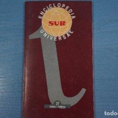 Libros de segunda mano: LIBRO DE ENCICLOPEDIA UNIVERSAL Nº 27 DE DIARIO SUR LOTE 11. Lote 63519464