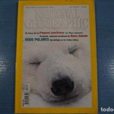 Libros de segunda mano: LIBRO DE OSOS POLARES DICIEMBRE 2000 DE NATIONAL GEOGRAPHIC LOTE 12. Lote 63522380