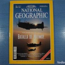 Libros de segunda mano: LIBRO DE BATALLA DE MIDWAY ABRIL 1999 DE NATIONAL GEOGRAPHIC LOTE 12. Lote 63522864