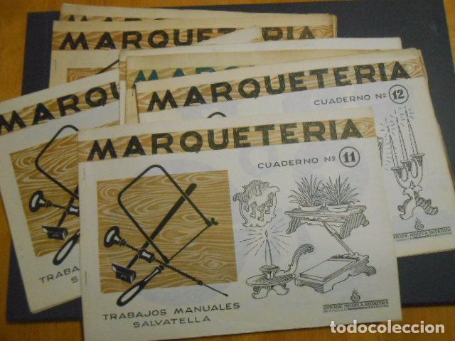 Cuaderno s marqueteria n 1 3 4 9 10 11 12 13 2 comprar - Cuadernos de marqueteria ...