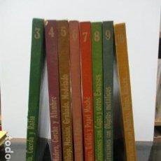 Libros de segunda mano: COLECCION DE CREACIONES MANUALES EDUCATIVAS 8 TOMOS ED. ALTEA 1975 . Lote 63650327