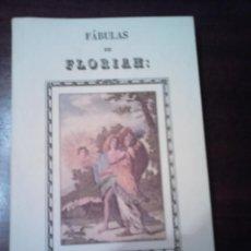 Libros de segunda mano: FABULAS DE FLORIAN. Lote 63773991