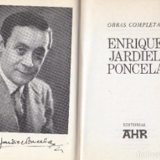 Libros de segunda mano: ENRIQUE JARDIEL PONCELA. OBRAS COMPLETAS. BARCELONA, 1973.. Lote 63900315