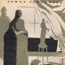 Libros de segunda mano: POMPEY, FRANCISCO. ESCULTORES ESPAÑOLES. MADRID: PUBLICACIONES ESPAÑOLAS, 1954. ILUSTRADA. 17X24. R. Lote 64037115
