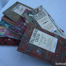Libros de segunda mano: 8 LIBROS BELLAMENTE ILUSTRADOS - PALABRAS - EDICIONES B 1999 1ª EDICION. Lote 64061583