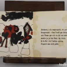 Libros de segunda mano: 4972- ASSAIG DE CANTIC EN EL TEMPLE. JAUME CARNER I SUÑOL. IMP. ART GRAFIC. 1971.. Lote 44068052