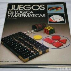 Libros de segunda mano: JUEGOS DE LOGICA Y MATEMATICAS, FRANCO AGOSTINI, EDICIONES PIRAMIDE 1988, LIBRO. Lote 64096347