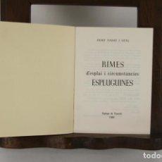 Libros de segunda mano: 5148-RIMES D'ESPLAI I CIRCUMSTANCIES. IMP. REQUESENS. 1980.. Lote 45203007