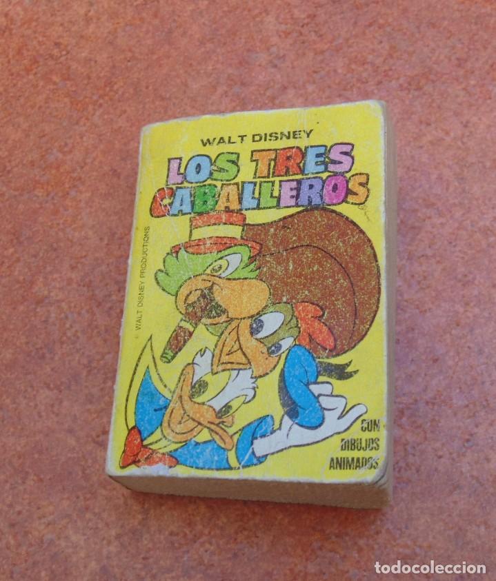 PEQUEÑO LIBRO LOS TRES CABALLEROS, WALT DISNEY, 1975, 1988 (EDICIONES B) (Libros de Segunda Mano - Literatura Infantil y Juvenil - Otros)