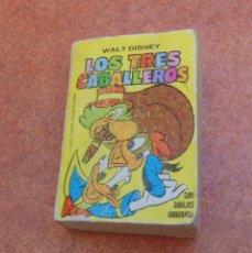 Libros de segunda mano: PEQUEÑO LIBRO LOS TRES CABALLEROS, WALT DISNEY, 1975, 1988 (EDICIONES B). Lote 64167307