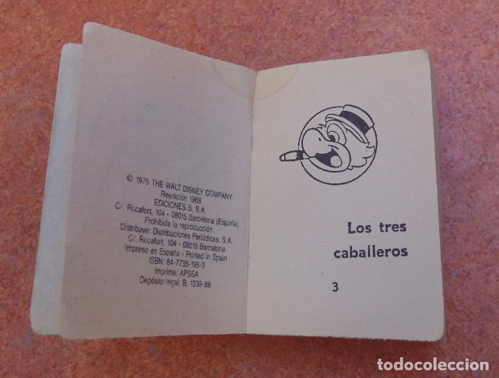 Libros de segunda mano: Pequeño libro Los tres caballeros, Walt Disney, 1975, 1988 (Ediciones B) - Foto 5 - 64167307