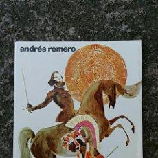 Libros de segunda mano: HERNAN CORTES. ANDRES ROMERO. CULTURA POPULAR JUVENIL DONCEL. 1º EDICION 1965.. Lote 64212103