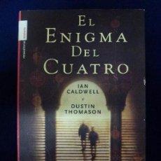 Libros de segunda mano: EL ENIGMA DEL CUATRO. TAPA DURA.. Lote 64229259