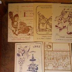 Libros de segunda mano: 5 EMBAJADA HUMORISTICA NOVELDA AÑOS 1977/80/81/82/86 PASCUAL GARCIA MARTINEZ. Lote 64261881