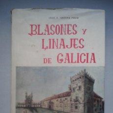 Libros de segunda mano: BLASONES Y LINAJES DE GALICIA. JOSÉ S. CRESPO POZO. AÑO 1965.. Lote 106688500