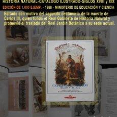 Libros de segunda mano: PCBROS - CATÁLOGO ILUSTRADO SIGLOS XVIII Y XIX - GOMIS - JOSA - FERNANDEZ - PELAYO - M. EDUC CIENCIA. Lote 64410555