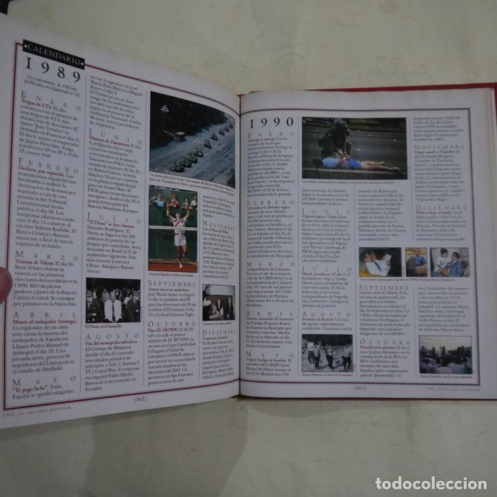 Libros de segunda mano: HISTORIA DE LA DEMOCRACIA 1975-1995. 20 AÑOS DE NUESTRA VIDA - VARIOS AUTORES - UNIDAD EDITORIAL - Foto 10 - 64412783