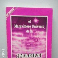 Libros de segunda mano: ENRIQUE BARRIOS. EL MARAVILLOSO UNIVERSO DE LA ¡MAGIA! . Lote 64574419