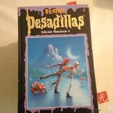 Second hand books - PESADILLAS EDICIÓN MONSTRUO 4, R.L. STINE - 64656735