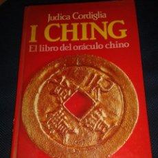 Libros de segunda mano: I CHING. JUDICA CORDIGLIA. Lote 63618355