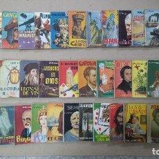 Libros de segunda mano: LOTE DE 32 NÚMEROS ENCICLOPEDIA PULGA,EDICIONES G.P. BARCELONA. . Lote 64668763