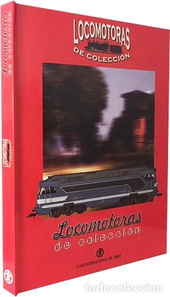 LOCOMOTORAS DE COLECCIÓN (CLUB INTERNACIONAL DEL LIBRO) 50 FICHAS DE LOCOMOTORAS: TEXTO Y FOTOS (Libros de Segunda Mano - Bellas artes, ocio y coleccionismo - Otros)