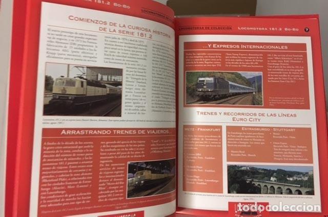 Libros de segunda mano: Locomotoras de colección (Club Internacional del Libro) 50 fichas de locomotoras: texto y fotos - Foto 2 - 64737943