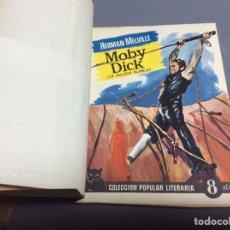 Libros de segunda mano: POPULAR LITERARIA, MOBY DICK , LA BALLENA BLANCA / HERMAN MELVILLE. Lote 64750019