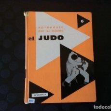 Libros de segunda mano: EL JUDO.- APRENDALO POR SI MISMO. Lote 64846895