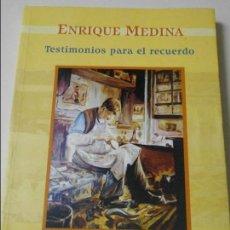 Libros de segunda mano: TESTIMONIO PARA EL RECUERDO DE LOS PERSONAJES POPULARES DE SIERO. ENRIQUE MEDINA. TOMO I. 107 ARTICU. Lote 64877815