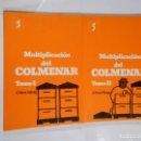 Libros de segunda mano: MULTIPLICACIÓN DEL COLMENAR. TOMOS 1 Y 2. I Y II. A. ROMA FÁBREGA. TDK34. Lote 167994810