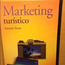 Libros de segunda mano: MARKETING TURÍSTICO - ANTONI SERRA -. Lote 64996095