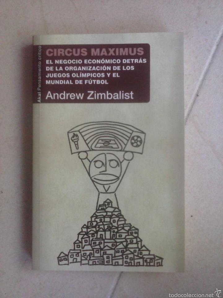 CIRCUS MAXIMUS. ANDREW ZIMBALIST (Libros de Segunda Mano - Pensamiento - Otros)