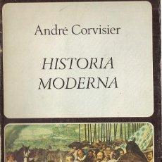 Libros de segunda mano: ANDRÉ CORVISIER : HISTORIA MODERNA. (ED. LABOR UNIVERSITARIA, MANUALES, 1979). Lote 65338715