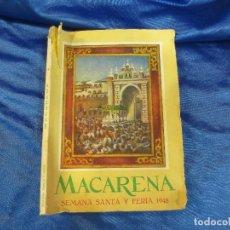 Libros de segunda mano: MACARENA , SEMANA SANTA SEVILLANA DE 1948. Lote 65499882