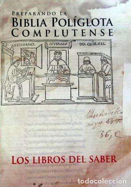 PREPARANDO LA BIBLIA POLÍGLOTA COMPLUTENSE. (MADRID, UNIVERSIDAD COMPLUTENSE. (Libros de Segunda Mano - Bellas artes, ocio y coleccionismo - Otros)