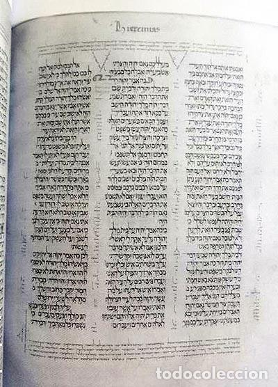 Libros de segunda mano: Preparando la Biblia Políglota Complutense. (Madrid, Universidad Complutense. - Foto 2 - 65785886