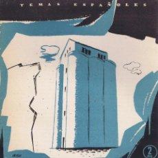 Libros de segunda mano: NUÑEZ-MAYO, OSCAR. RED NACIONAL DE SILOS. MADRID: PUBLICACIONES ESPAÑOLAS, 1957. ILUSTRADA. 17X24. R. Lote 65790390