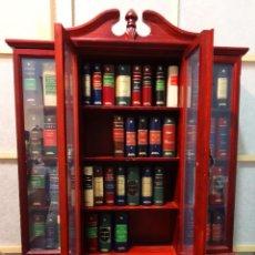 48 libros miniatura con mueble libreria - Grandes obras literarias planeta deAgostini - Minilibro