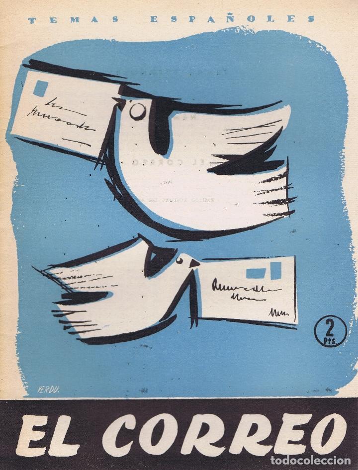 FORNET DE ASENSI, EMILIO. EL CORREO. MADRID: PUBLICACIONES ESPAÑOLAS, 1957. ILUSTRADA. 17X24. RÚSTIC (Libros de Segunda Mano - Historia - Otros)