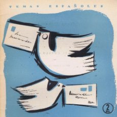 Libros de segunda mano: FORNET DE ASENSI, EMILIO. EL CORREO. MADRID: PUBLICACIONES ESPAÑOLAS, 1957. ILUSTRADA. 17X24. RÚSTIC. Lote 65868186