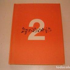 Libros de segunda mano: ROGER WALTON. TYPOGRAPHICS 2. CYBERTYPE. ZINE + SCREENS. RM77366. . Lote 65922670